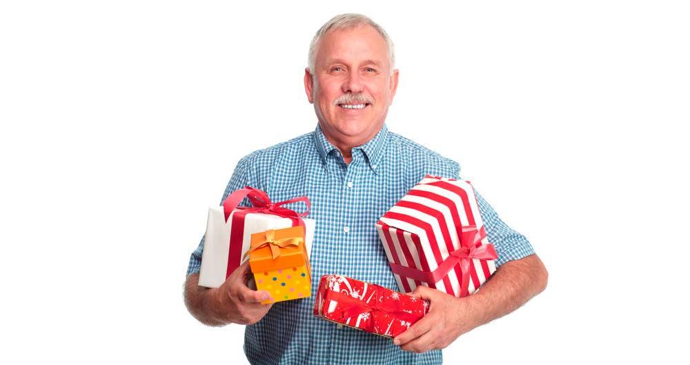 подарок сюрприз пенсионеру