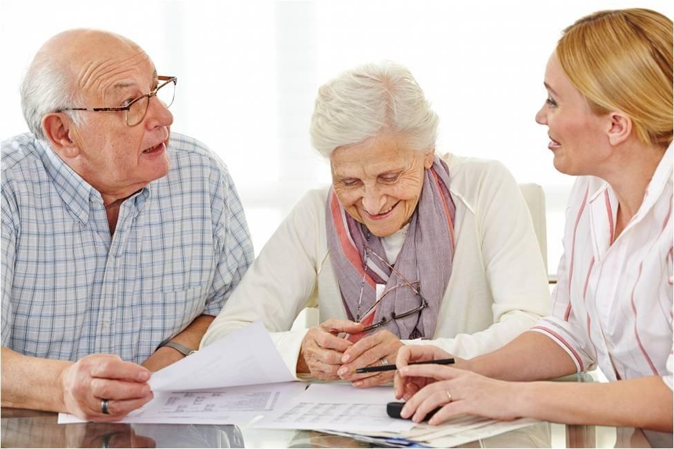 оформление пенсионеров