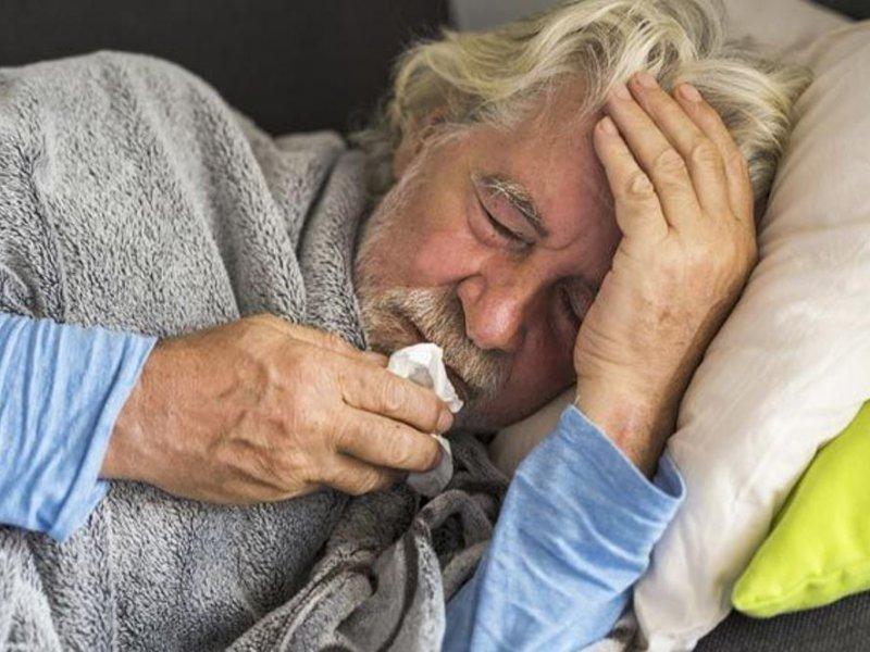дедушка болеет